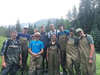 A group of local high school students is working with the Forest Service this summer to monitor stream health. They are part of the Walking Mountain Natural Resource Internship, which is supported by the National Forest Foundation and Vail Resorts' Ski Conservation Fund.