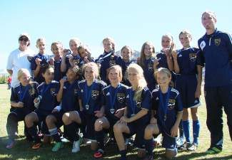 Congratulations to the VVSC U12 Girls Navy team for winning first place in the gold division in the Vail Cup Tournament! Thank you to the event sponsors, families and partners that came together to ensure a successful event.