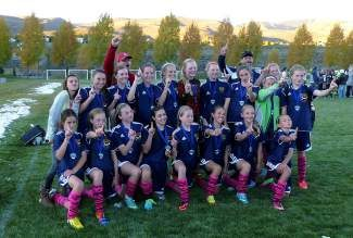 Congratulations to U14 girls team for winning the 2013 Vail Cup! Great job!