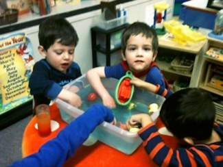 These preschoolers would like to invite new friends to the Family Learning Center this summer! Please call 970-926-7070 for more information or visit our website at www.flcedwards.org.