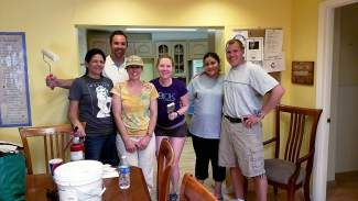 Many thanks to our friends at Rocky Mountain Insurance & Financial LLC for volunteering with BFF for our shelter cleanup day! We thank you all for your hard work and your support of our community. You guys are rock stars!