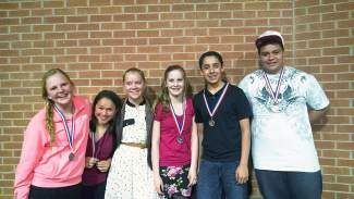 If you see these Gypsum Creek Middle School students, then congratulate them on their awesome accomplishment of qualifying for the National History Day State Competition. Good luck as you prepare to compete in Denver on May 3!