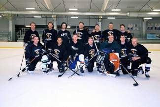 Congratulations to the Vultures Hockey Club for winning the WECMRD Eagle men's hockey league. The Vultures downed the Brush Creek Saloon team 5-3 in a hard fought match. Great season, boys!