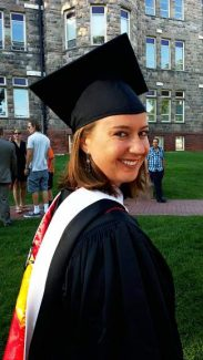 Kaleigh Becker just graduated with a master's in education from the University of Denver. School starts on Monday, Aug. 25, at Bradley International Elementary in Denver where Miss Becker will be teaching fifth grade. The Becker clan is very proud!