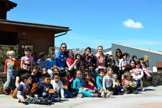 These preschoolers from the Family Learning Center would like to thank Melisa Rewold-Thuon of the Youth Foundation for joining us for the Month of the Young Child celebration at Freedom Park.
