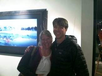 Local Vail master landscape photographer John Richter and art collector Vikki celebrate the unveiling of Richter's latest work 'Winter Wonderland' at the Richter Fine Art Gallery in Vail located at 225 Wall Street. His work can also be viewed at www.richterfineartphotography.com.