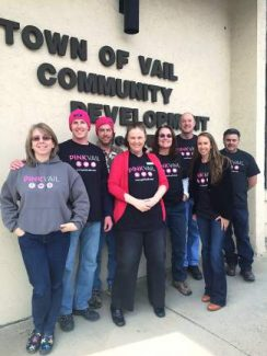 Thank you to the town of Vail and all of its fabulous employees for your role in making Pink Vail 2014 a huge success. Your support of Pink Vail directly impacts patients at Shaw Regional Cancer Center and helped us put on the biggest and best Pink Vail to date! Thank you!