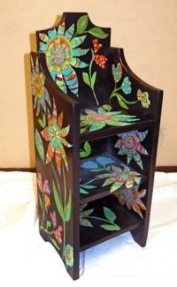 """Support your local Catholic Charities and take home a piece of functional art!  Local artists have taken furniture found at consignment and thrift stores and donated their time to create fun and beautiful pieces for the Catholic Charities """"Designs for Hope"""" silent auction.  You can see the furniture throughout the Valley at area stores and at all Alpine Banks.  To view all the pieces, go to www.biddingforgood.com/designsforhope  and find where they are located, and the current bid.  Call Catholic Charities at 970-384-2060 for more information!  The auction ends Friday, so bid now!"""