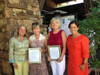 Bright Future Foundation celebrated the faithful tenure and dedication of two board members, Susan Frampton and Cindy Clement. We salute you both and thank you for your continued commitment to serve disenfranchised women and children in Eagle County.