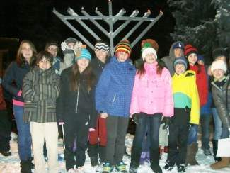 Please join B'nai Vail for a Community Hanukkah Menorah lighting near the covered bridge in Vail. at 6 p.m. every night of Hanukkah until Wednesday.