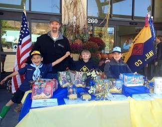 Boy Scout Troop 231 were out selling popcorn at City Market and Walmart this past weekend!