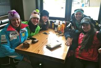 Members of the Women's U.S. Ski Team had brunch at Northside Kitchen in Avon after training on Copper Mountain recently. These ladies dominate on the ski slopes and in town. Be sure to get out and support the U.S. Ski Team in Beaver Creek for the 2014 Audi FIS Alpine World Cup beginning Nov. 29.