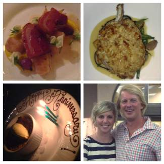 Thanks, Joey and Tony at Grouse Mountain Grill for a GREAT anniversary dinner. The food was OUTSTANDING!