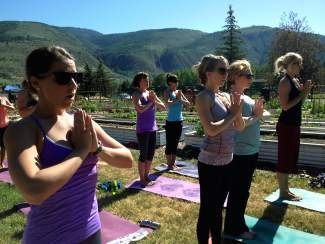 Grab your sunglasses, your sunscreen and all of your friends and family for Revolution Rocks the Garden! There will be a free yoga class from 9 to 10:15 p.m. in the Eagle-Vail Community Gardens on Sunday morning!  All levels are welcome!