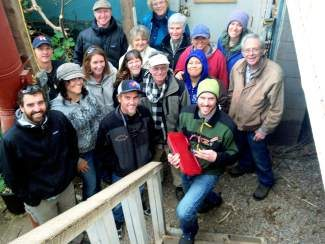 Congratulations to CSU Extension'smaster gardener clas,swhich celebrated the completion of its 10-week training session by taking a field trip to the Colorado Rocky Mountain Permaculture Institute.