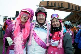 Coming to Pink Vail on April 5? Avoid the lines for check-in and registration by coming to early check-in on April 1 from 7 a.m. to 7 p.m. at  Jack's Place in Edwards or on April 2  from 4 to 7 p.m. at the Grand View Room at the top of the Lionshead Parking Structure. Learn more about Pink Vail at www.pinkvail.com. Photo by Zach Mahone.