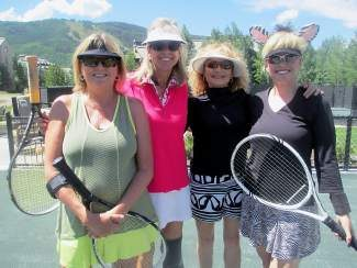 Ladies of the Valley Doubles Tennis Tournament 2014