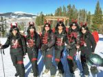Vail's Fallen Angels put some effort into their costumes for the 31st annual Tuxedo Party on Vail Mountain.