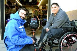 The Vail Veterans Program thanks the instructors of the Vail Adaptive Ski School for all of their hard work and for helping wounded U.S. service members explore Vail during their recoveries.  What you do is very special.  Thank you!