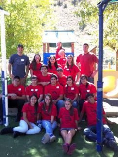 Nonprofits reaped the rewards of EVHS's Community Service Day on September 25. The Youth Foundation, a class of energetic Eagle Valley High School kids and the Vail Young Professionals Association spent September 25 washing, scrubbing, organizing, raking, painting and generally cleaning the Family Learning Center in Edwards. The group was able to provide about 100 hours of service in the one day.