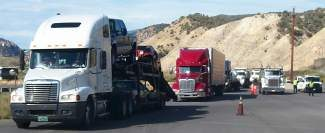 Thousands of trucks were inspected as part of an annual safety check operated the Colorado State Patrol's Motor Carrier Safety division. In three days, more than 2,000 trucks were pulled off the highway and inspected in Dotsero. Hundreds more were inspected in Vail.