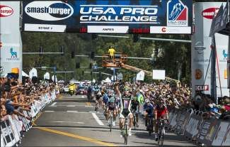 Slovakian racer Peter Sagan won the first stage of the USA Pro Challenge 2013 on Monday, August 19, completing the 60.6 mile route in 2 hours, 26 minutes. Sagan, riding for Italy's Cannondale team, is a four-time stage winner in the Tour de France.