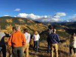 Members of the Minturn Town Council, town taff and public toured the Battle Mountain Development property on Wednesday night. The property once was envisioned to be a ski resort before the recession.