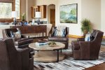 Welcome fall by adding nubby textures, cozy leather and interesting natural design elements to a room.