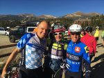 "Sonnenalp Proprietor Johannes Faessler, Wendi Kushner and Marc Prisant begin the 38-mile annual Casual Classic bike ride from Breckenridge to Vail. ""This is a great event. It's a lot of fun, a good cause, and it feels like the official end of summer. It sort of punctuates the season,"" Kushner said."