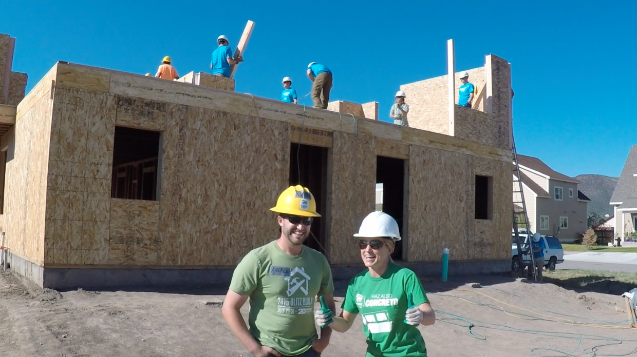 Off The Hill With Tricia Swenson Building Blitz In Gypsum Courtesy Of Habitat For Humanity Vail Valley