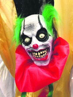 The Rifle Police Department took to Facebook Tuesday to inform the community on several recent clown-related reports. Scary clown costumes seem to be all the rage this season at places like Spirit Halloween store in Glenwood Meadows.