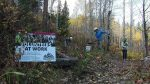 Volunteers for Outdoor Colorado's final project on the Western Slope this year was the reroute of the Cougar Ridge trail near Minturn, which opened Sunday.
