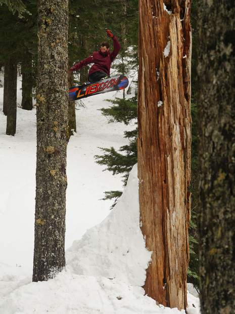 "Phil Hansen splits the trees with style in ""The Weather Outside Is Weather"" from Think Thank."
