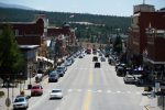 LEADVILLE, CO - AUGUST 18: Downtown Leadville, Colorado looking down Harrison Ave. August 18, 2015. (Photo by Andy Cross/The Denver Post)