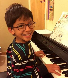 Zain Kazazean, a special boy with always a smile is turning seven Oct. 19. Thank you for the joy you bring us all. Love, Mom and your brother, Armen.