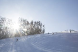 Born Free on Opening Day at Vail Mountain on Friday.
