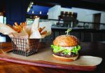 The Harvest Burger with all-natural beef includes a very special sauce. | Harvest by Kelly Liken | EAT Magazine Summer 2016