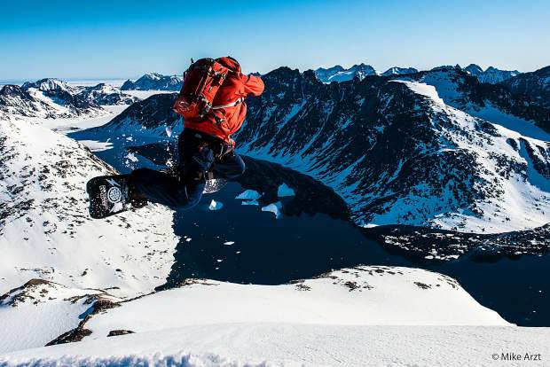Rob Kingwill catches air in Greenland in the new Warren Miller Entertainment film