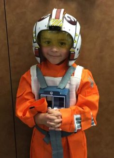Happy fifth birthday, Jonah! We love your spirit, contagious smile and caring heart. You're the best X-Wing Fighter Pilot in the galaxy, and we can't wait to see where your Jedi-training will lead you! May the force be with you (and us!) as we celebrate your day! Love, Mommy, Daddy and Madi.