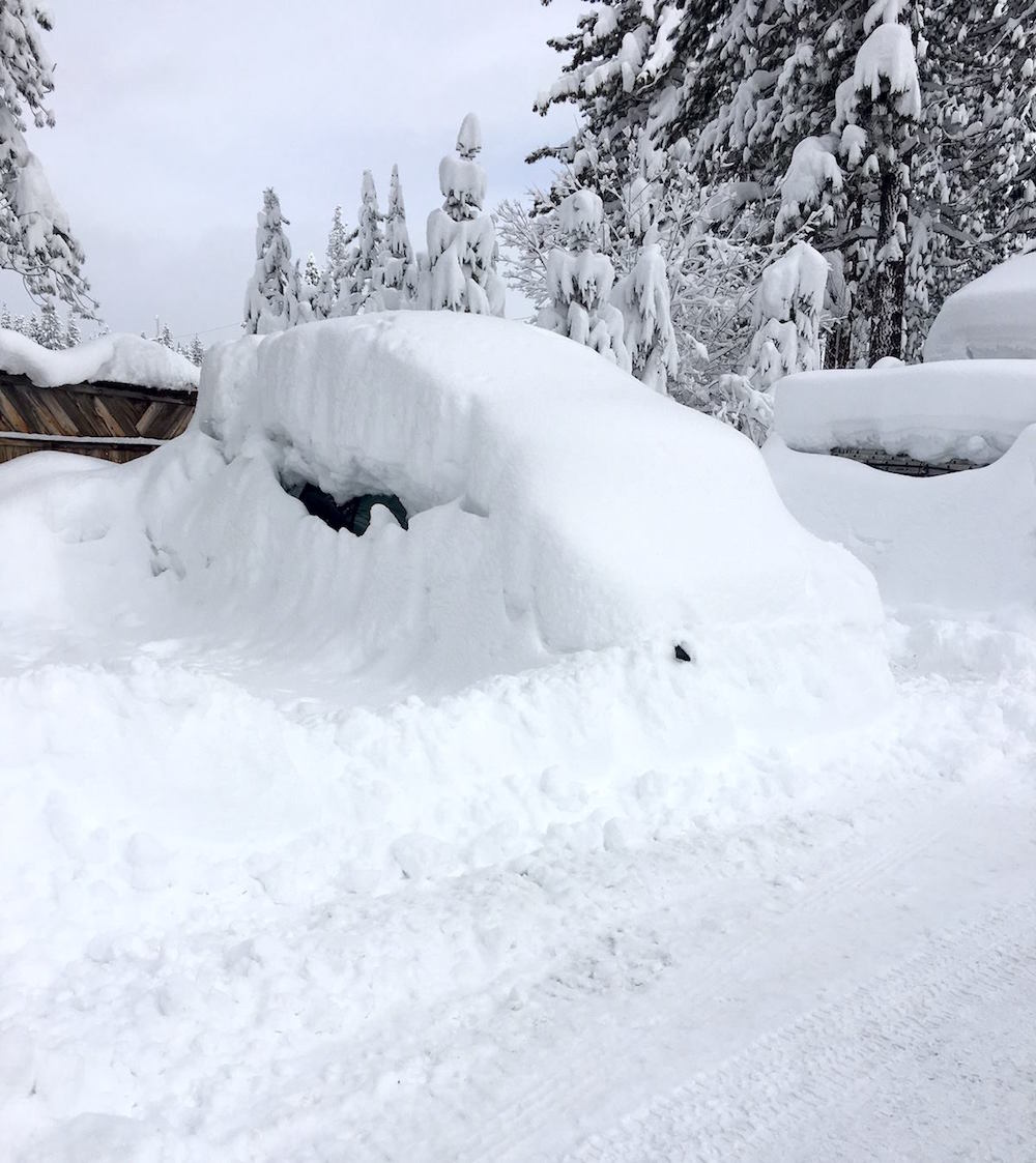 Lake tahoe weather feet of snow possible thursday