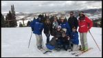 Isabelle Dunai, in the monoski, and her family spent their Make A Wish weekend with the Ritz Carlton Bachelor Gulch. She was surprised with some skiing in Beaver Creek, that she did not know was on the agenda.