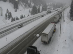 I-70 just east of East Vail as of 2 p.m.