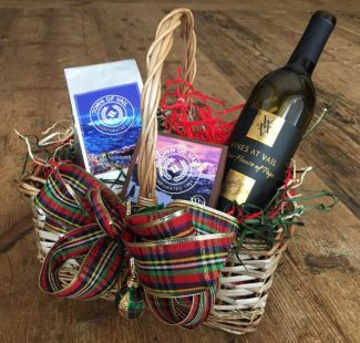 Come by Vail Public Library to get a gift basket filled with coffee and chocolate for just $20! All of the proceeds will go toward the Friends of the Library. The coffee is supplied by Vail Mountain Coffee and Tea Co. and the chocolate is supplied by Cornerstone Chocolates. If you are looking for a wine gift, then we have that, too. Come by Vail Public Library to get an order form for Vines at Vail to add wine to your gift basket. prices vary depending on the type of wine.
