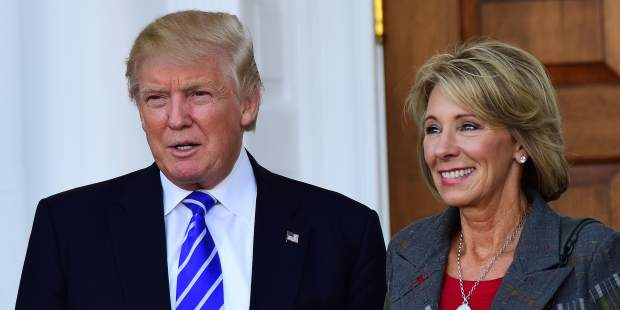 Betsy DeVos is a cynical choice for education secretary