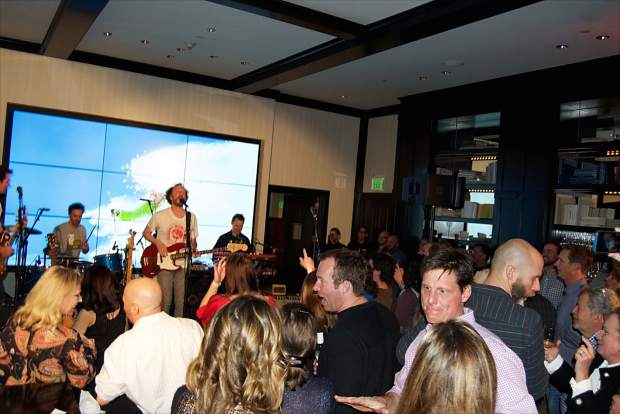 The Four Seasons Resort Vail hosted the mid-winter Rock-N-Remedy concert with Guster on Tuesday at The Remedy Bar.