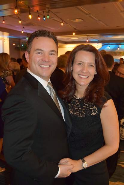 Greg and Shannon Kennealey step out for the Vail Valley Foundation's 18th annual Black Diamond Ball at the Park Hyatt, Beaver Creek.