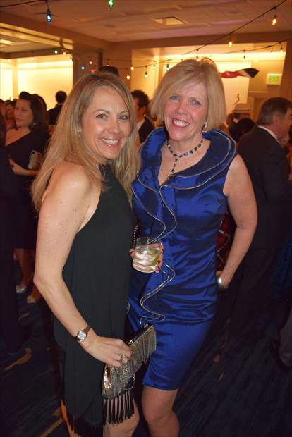 Patrons celebrate community visionaries at the Vail Valley Foundation's 18th annual Black Diamond Ball at the Park Hyatt, Beaver Creek.