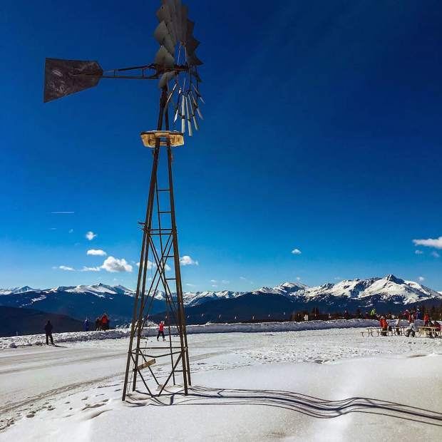 @thurrst: Work views. #VailLive