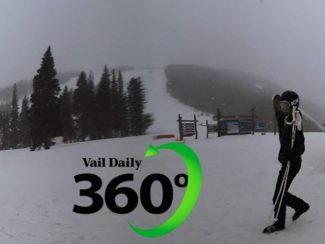 Vail 360 Video: Snow falling at Beaver Creek to end Friday