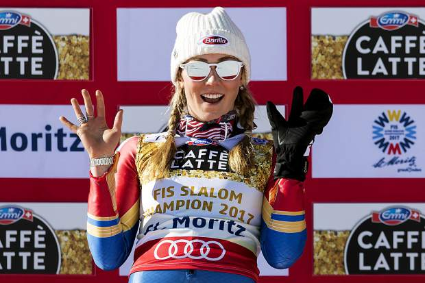 Mikaela Shiffrin sweeps at Squaw Valley, secures slalom title